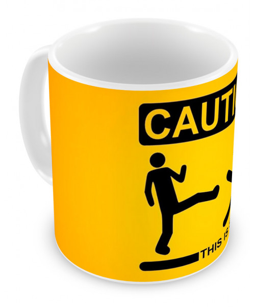 Caneca Caution
