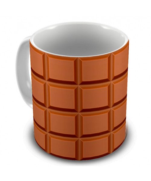 Caneca Barra de Chocolate
