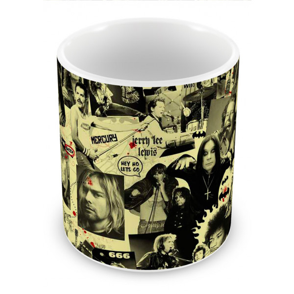Caneca Ídolos do Rock 2