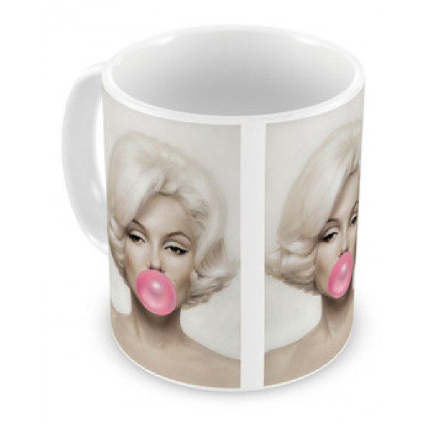 Caneca Marilyn Chiclete
