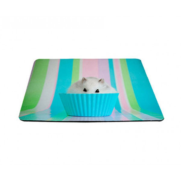 Mouse Pad Cup Rato